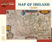 Map of Ireland 500-Piece Jigsaw Puzzle Aa828