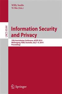 Information Security and Privacy