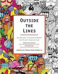 Outside the Lines - An Artists Colouring Book for Giant Imaginations