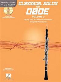 Classical Solos for Oboe, Vol. 2: 15 Easy Solos for Contest and Performance