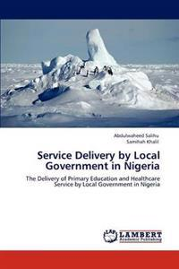 Service Delivery by Local Government in Nigeria
