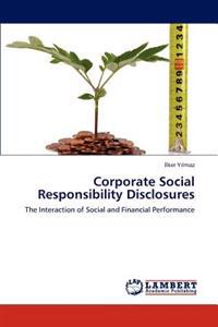 Corporate Social Responsibility Disclosures