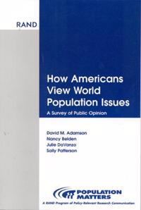 How Americans View World Population Issues