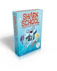Shark School Shark-Tastic Collection Books 1-4: Deep-Sea Disaster; Lights! Camera! Hammerhead!; Squid-Napped!; The Boy Who Cried Shark