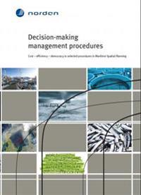 Decision-making management procedures