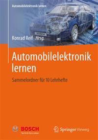 Automobilelektronik Lernen: Sammelordner Fur 10 Lehrhefte
