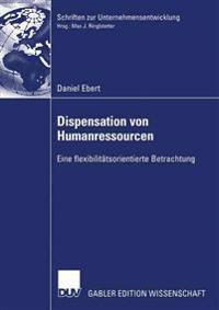 Dispensation Von Humanressourcen