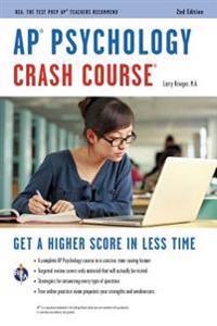 Ap(r) Psychology Crash Course, 2nd Ed., Book + Online