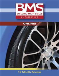 Building Math Skills Online for Automotive Printed Access Card