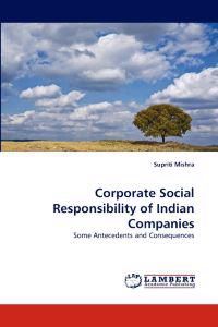 Corporate Social Responsibility of Indian Companies
