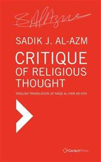 Critique of Religious Thought