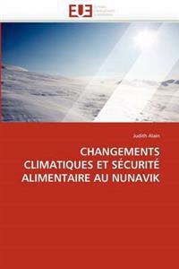 Changements Cllmatiques Et Securite Alimentaire Au Nunavik