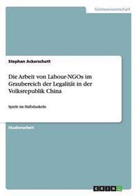 Die Arbeit Von Labour-Ngos Im Graubereich Der Legalitat in Der Volksrepublik China