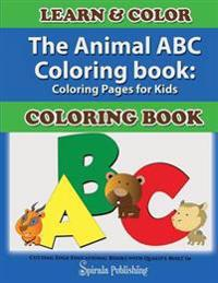 The Animal ABC Coloring Book
