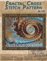 Fractal Cross Stitch Pattern - No. 133