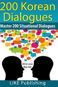 200 Korean Dialogues Box Set: All-In-One Box Set
