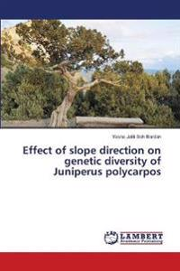 Effect of Slope Direction on Genetic Diversity of Juniperus Polycarpos