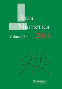 Acta Numerica Acta Numerica 2014: Series Number 23
