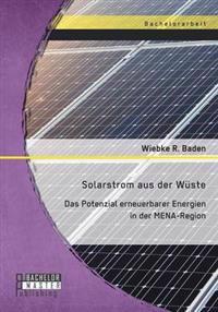 Solarstrom Aus Der Wuste