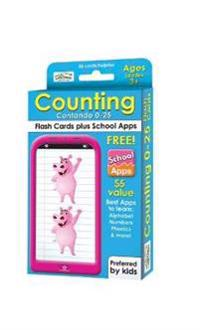 Counting 0-25 Flash Cards / Contando tarjetas 0-25