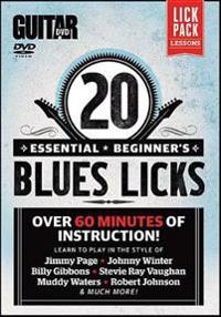 20 Essential Beginner's Blues Licks