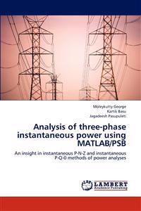 Analysis of Three-Phase Instantaneous Power Using MATLAB/Psb