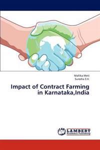 Impact of Contract Farming in Karnataka, India