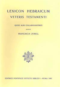 Lexicon Hebraicum Veteris Testamenti