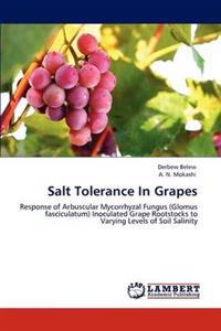 Salt Tolerance in Grapes