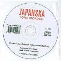 Japanska för nybörjare cd audio