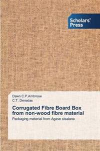 Corrugated Fibre Board Box from Non-Wood Fibre Material