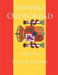 Spanska Ordforrad