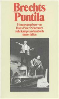Brechts Puntila und sein Knecht Matti