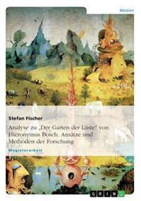Analyse Zu Der Garten Der Luste Von Hieronymus Bosch. Ansatze Und Methoden Der Forschung