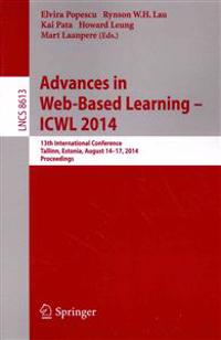 Advances in Web-based Learning - Icwl 2014