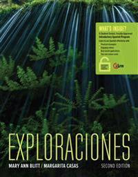 Exploraciones + Student Activities Manual + iLrn Heinle Learning Center Printed Access Card