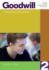 Goodwill Företagsekonomi 2 Uppgiftsbok inkl. cd