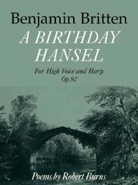 Birthday Hansel, Op. 92: For High Voice and Harp