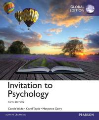 Invitation to Psychology with MyPsychLab, Global Edition