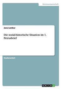 Die Sozial-Historische Situation Im 1. Petrusbrief