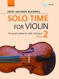 Solo Time for Violin Book 2 + CD