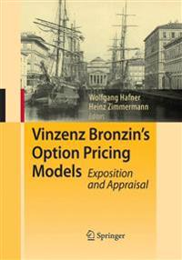 Vinzenz Bronzin's Option Pricing Models