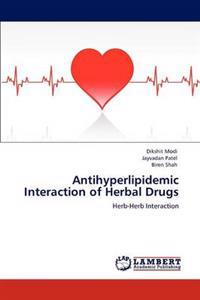 Antihyperlipidemic Interaction of Herbal Drugs