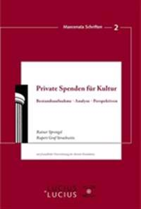 Private Spenden F r Kultur
