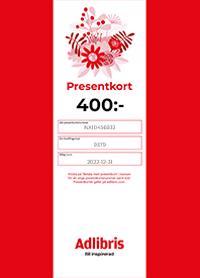 Presentkort 400 kr - digitalt
