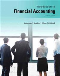 Introduction to Financial Accounting Plus New Mylab Accounting with Pearson Etext -- Access Card Package