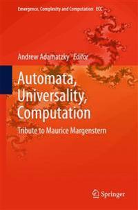 Automata, Universality, Computation