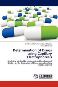 Determination of Drugs Using Capillary Electrophoresis