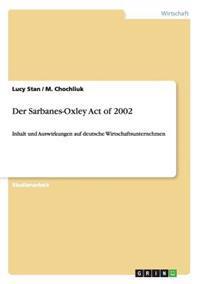 Der Sarbanes-Oxley Act of 2002