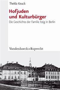 Hofjuden Und Kulturburger